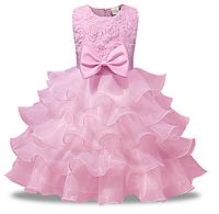Платье нарядное с бантом 90, 100,  130, 140, фото 1