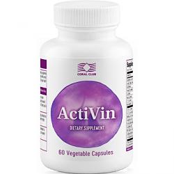 БАД для сердца Активин- капсулы, способствуют улучшению функций сердечно-сосудистой системы (Коралловый Клуб)