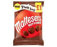 Шоколад Maltesers Buttons 93 g