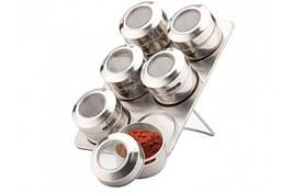 Набір для спецій і приправ на магніті Товарpeterhoff PH-12789 7в1 кухонне приладдя