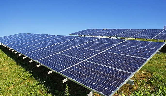 Система креплений солнечных батарей для наземного размещения 108 шт (30 кВт)