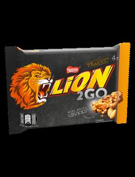 Батончики Lion 2 Go Peanut