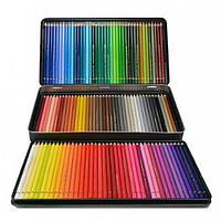 Цветные карандаши Faber Castell, Polychromos, 120 шт., метал. коробка (110011)