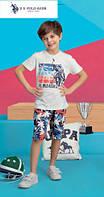 Футболка+капри для мальчика 401-4 U.S.Polo Assn