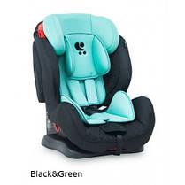 Автокресло Bertoni RACE + SPS (9-36кг) (black&green)