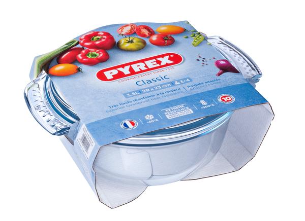 Купить Каструля с/к PYREX Classic каструля скл. кругл. 2, 5л+1, 0л упак (112A000)