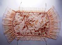 Оригинальная накидка в стиле прованс на спинку стула
