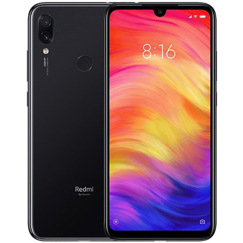 Смартфон Xiaomi Redmi Note 7 6/64Gb Space Black Global firmware (CN) 12 мес
