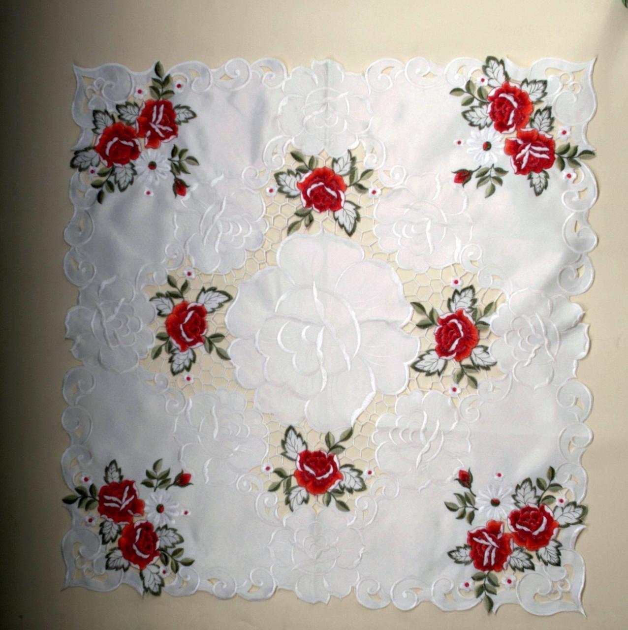 Столешница  розы размер 85*85