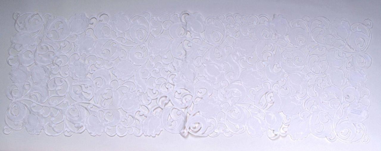 Салфетка - дорожка  ажурная 40*110  Тюльпан