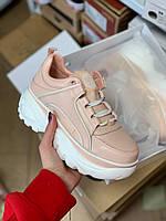 Женские кроссовки Buffalo London 1339 Pink (реплика), фото 1