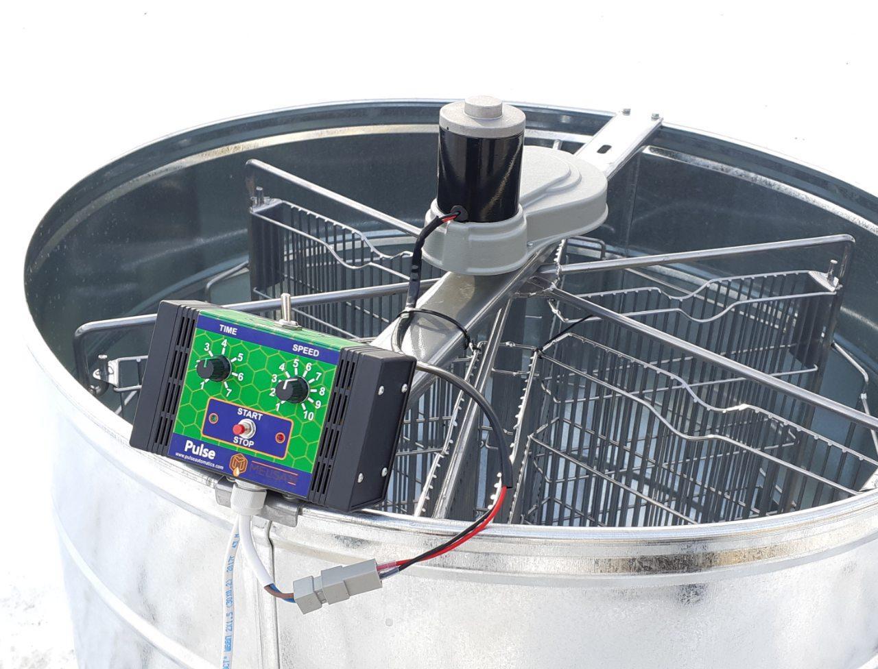 Электропривод для медогонки Мелиса 93 (12 В 100 ватт)