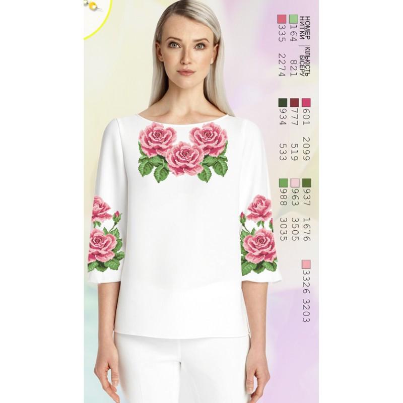 Бісер Арт - Жіноча сорочка бісером  продажа 618e0b566354f