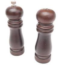 Набор для специй Schtaiger SHG-384 перцемолка солонка деревянная, фото 2