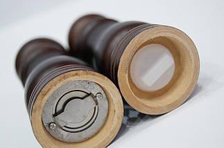 Набор для специй Schtaiger SHG-384 перцемолка солонка деревянная, фото 3