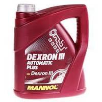Трансмиссионное масло MANNOL Dexron III Automatic Plus 4л