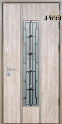Двері вхідні вуличні STRAJ Toscana