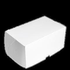 Коробка для торта КТ 0100 (1кусок), белая100*160*80, 25шт/уп (Р)