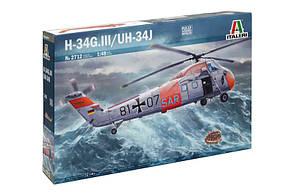 H-34G.lll/UH-34J. 1/48 ITALERI 2712