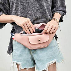 Поясные сумки с одним карманом