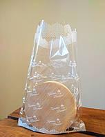 Пасхальные полипропиленовые пакеты для Пасхи 30х35 донная складка 3х20мм(1цв), фото 1