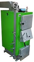 Котел твердотопливный 25 кВт Ateplo LUX-1 длительного горения
