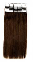 Волосы на лентах 60 см. Цвет #04 Каштановый, фото 1