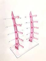 Підставка для окулярів рожева, фото 1