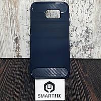Противоударный чехол для Samsung S6 (G920) Ultimate Синий