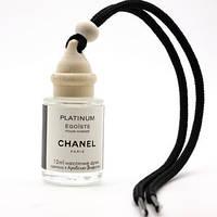 """Ароматизатор в авто парфюмированный масляный  """"Chanel Platinum Egoiste"""" , бутылочка 12мл"""