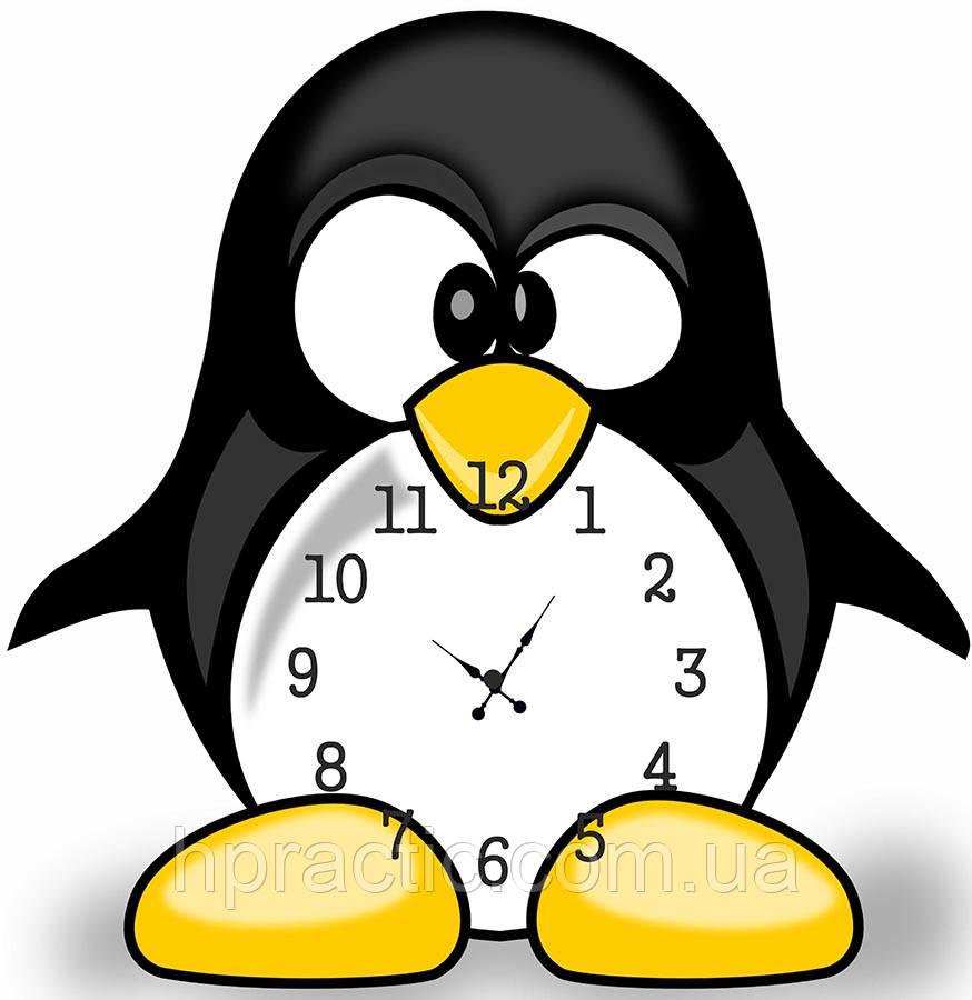 """Часы настенные """"Пингвин"""""""