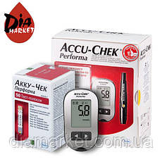 Глюкометр Акку Чек Перфома (Accu Chek Perfoma) + 50 тест-полосок