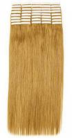 Волосы на лентах 70 см. Цвет #27 Золотистый блонд, фото 1