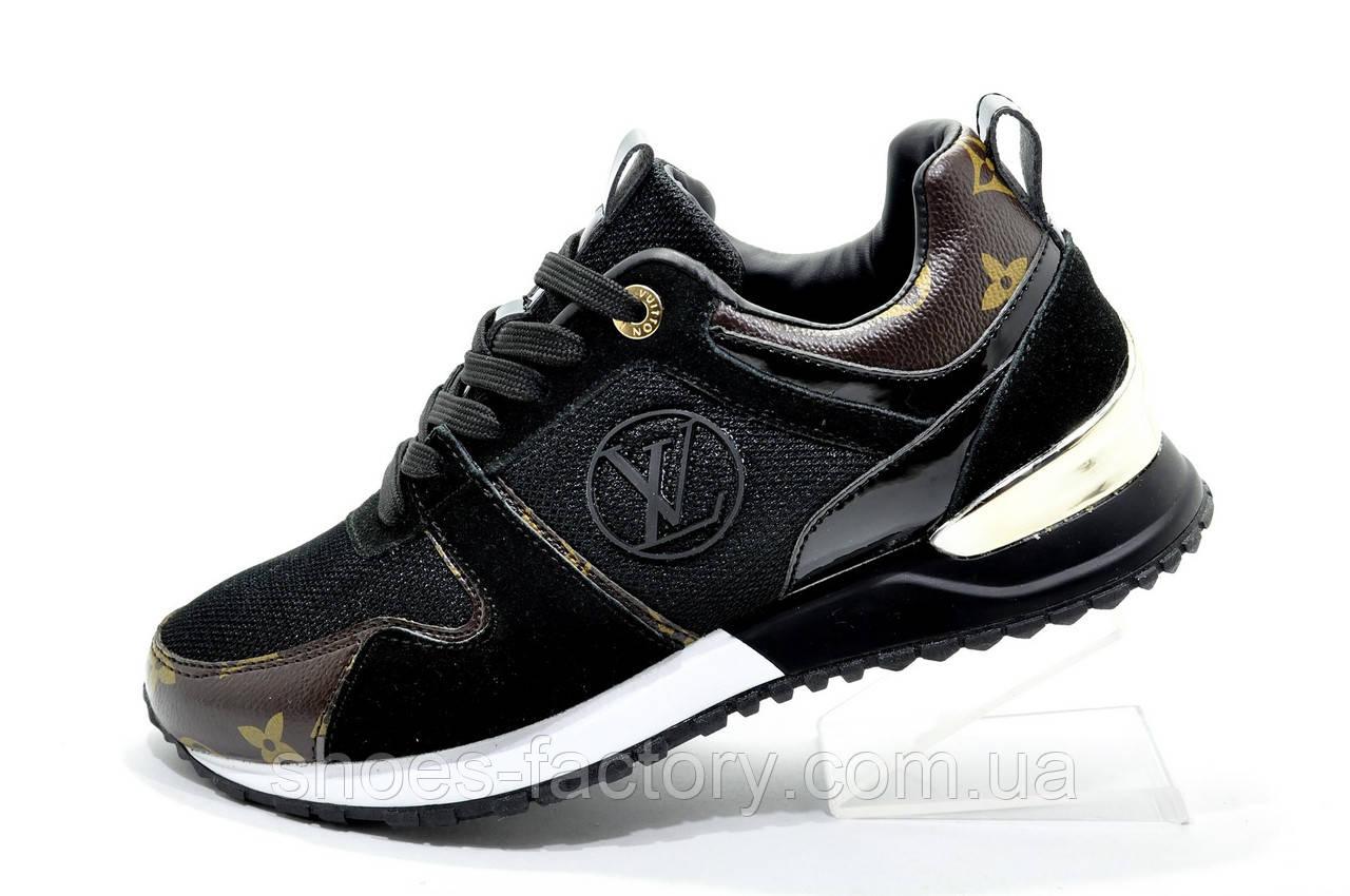 Женские кроссовки в стиле Louis Vuitton, Black