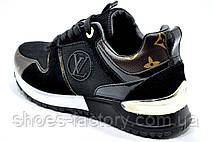 Женские кроссовки в стиле Louis Vuitton, Black, фото 3
