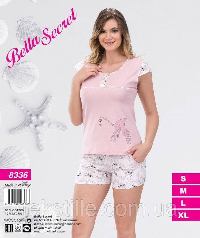 Пижама женская шорты Metin