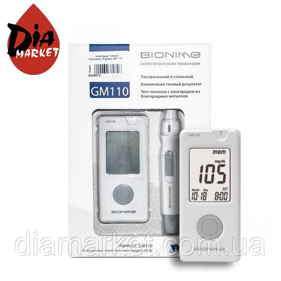 Глюкометр Бионайм Райтест ДжиЭм 110 (Bionime Rightest GM110)