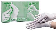 Перчатки смотровые нестерильные припудренные латексные «Semperсare» ТМ IGAR , размер L (упаковка 50 пар)