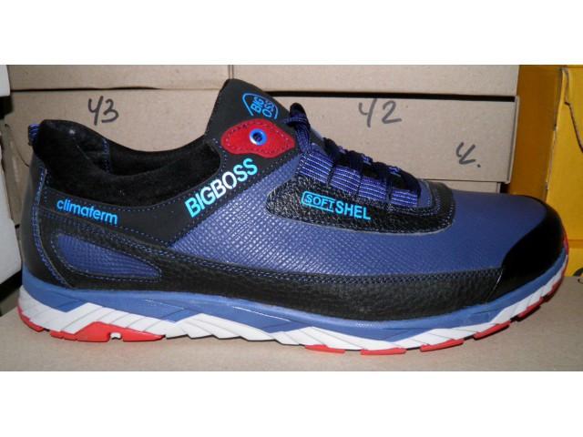 Туфли * мужские Big Boss K 36 синий * 18013