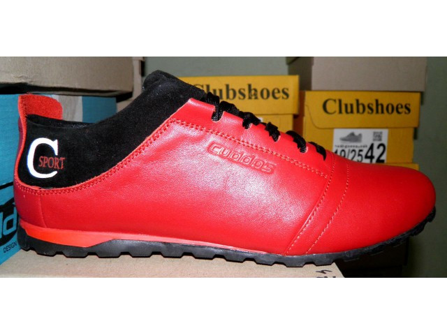 Туфли подростковые * Cuddos 50 красный * 18015