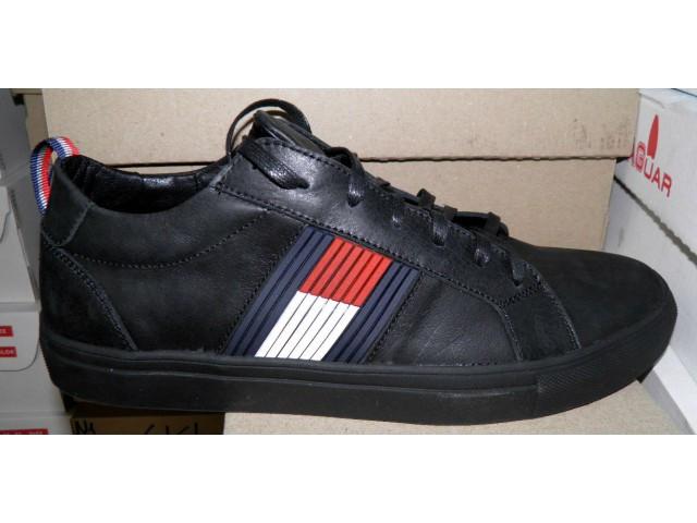 Туфли мужские Tommy Hilfiger  Н-1 черный *17980