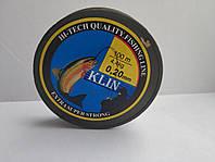 Леска Клинская 0,20мм, 4,4кг, 100 м