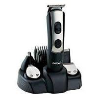 Стайлер триммер Машинка для стрижки волос 5в1 Gemei GM-590 портативный с док станцией