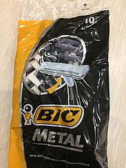 """Одноразовые бритвенные станки """"Big metal"""" (10шт.) станок для бритья бик"""