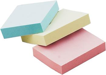 Блок для нотаток 38 х 51мм, 100 аркушів, асорті