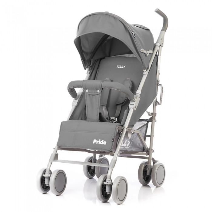 Прогулочная коляска-трость TILLY Pride Light Grey (T-1412)