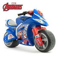 Детский электромотоцикл, Мстители 6V, Injusa 64677