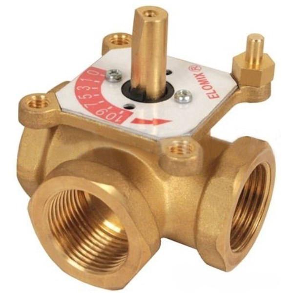 """3-х ходовой смесительный клапан ЕМ3-25-8 Ду25 (Kvs 8 м. куб./час), подключения 1"""" ВР Meibes"""