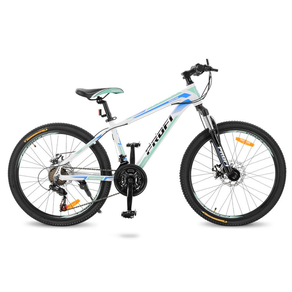 """Велосипед Profi 24"""" G24PRECISE A24.2 White-Blue (G24PRECISE)"""