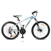 "Велосипед Profi 24"" G24PRECISE A24.2 White-Blue (G24PRECISE), фото 1"